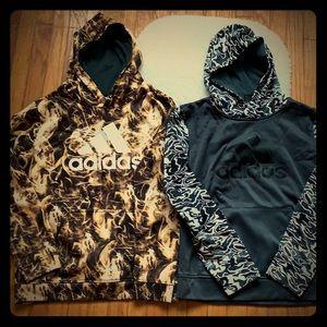 Boys Adidas athletic sweatshirts